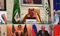 KTT G20: Semua Negara Mengimbau Kerja Sama untuk Menghadapi Pandemi Covid-19