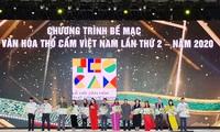 Penutupan Festival Budaya Kain Ikat Vietnam Kali ke-2 Tahun 2020