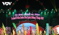 Pembukaan Pekan Budaya Wisata Dong Thap 2021
