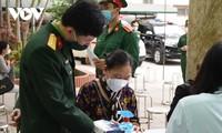"""35 Relawan yang Pertama Mendapat Suntikan Uji Vaksin Covid-19 """"Nano Covax"""" tahap II"""