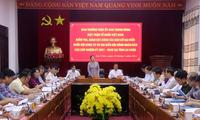 Pengurus Besar Front Tanah Air Vietnam Periksa Pemilihan Anggota MN di Provinsi Lai Chau