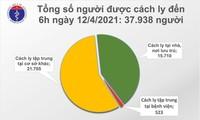Di Vietnam Tercatat 12  Kasus Infeksi Covid-19 Baru