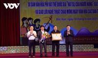 """Nyanyian Sli dari Warga Etnis Minoritas Nung"" Menjadi Pusaka Nonbendawi Nasional"