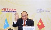 Presiden Nguyen Xuan Phuc: Vietnam Konsisten dengan Garis Politik Diplomatik yang Independen, Mandiri, Teranekaarahkan, dan Teranekaragamkan