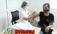 Kota Ha Noi Laksanakan Vaksinasi Covid-19 untuk Warga Periode 2021-2022