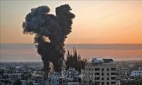 Israel Lakukan Serangan Udara terhadap Basis-Basis Militer di Jalur Gaza