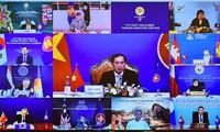Terus Junjung Tinggi Prinsip-Prinsip untuk Jamin Asia Timur Melalui Mekanisme Dialog dan Kerja Sama