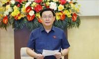 Ketua MN Vuong Dinh Hue: Proaktif Susun Proyek-Proyek dari Dini untuk Jamin Kualitas dengan Lebih Baik