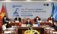 Pembukaan Kongres ke-15 Organisasi Badan-Badan Pemeriksa Keuangan Tertinggi Asia (ASOSAI)