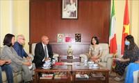 Italia Bersedia Lakukan Bantuan dan Kerja Sama dengan Vietnam dalam Pengobatan Covid-19
