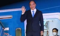 Presiden Nguyen Xuan Phuc Akhiri dengan Baik Kehadiran pada Sesi Pembahasan Bersama Tingkat Tinggi MU PBB Angkatan Ke-76