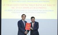 Kota Hai Phong Berupaya Perbaiki Lingkungan Investasi