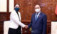 Presiden Nguyen Xuan Phuc Terima Dubes Selandia Baru di Vietnam