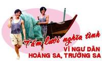 Red caritativa – actividad significativa del Sindicato vietnamita por los pescadores