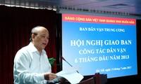 Vietnam renueva la movilización popular para ganar la confianza del pueblo