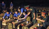 Homenaje en Vietnam a Mártires e Inválidos de Guerra
