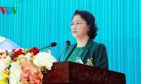 Presidenta del Parlamento vietnamita orienta desarrollo de región sureña