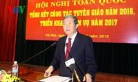 Vietnam evalúa labores de divulgación y educación en 2016