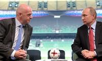 Putin promete buenos preparativos para la Copa Confederaciones y el Mundial de Futbol