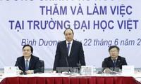 Primer ministro orienta el desarrollo de la universidad Vietnam-Alemania