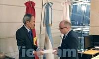 Argentina ensalza los avances económicos de Vietnam