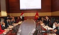 Vietnam y Perú celebran la primera reunión de su Comité Intergubernamental