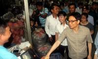 Ciudad Ho Chi Minh consolida el control del origen de alimentos en los mercados principales