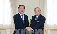 Presidente de Vietnam visita la prefectura nipona de Gunma