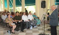 Termina jornada por 45 aniversario de la primera visita de Fidel Castro a Vietnam