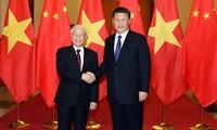 Líderes vietnamitas felicitan a China en su 69 aniversario del Día Nacional