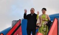 Primer ministro de Vietnam comienza su agenda de trabajo en Dinamarca