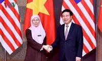 Vietnam y Malasia buscan lograr un intercambio comercial de 15 mil millones de dólares en 2020