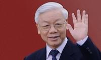Líderes mundiales siguen felicitando al nuevo presidente de Vietnam