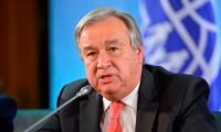Sekjen PBB menekankan arti penting dari usaha mencakupkan perawatan kesehatan seluruh rakyat