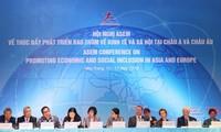 Cumbre del Foro Asia-Europa en Vietnam aborda temas de desarrollo sostenible e inclusivo