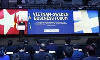 Foro Empresarial Vietnam-Suecia confirma la cooperación multisectorial entre ambos países