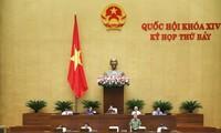 Parlamento vietnamita interpela al ministro de Seguridad Pública acerca de temas críticos