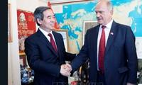 Partidos comunistas de Vietnam y Rusia consolidan cooperación