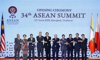 Jefe del Gobierno vietnamita participa en la inauguración de la 34 Cumbre de la Asean