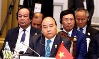 Primer ministro de Vietnam asiste a sesión plenaria de trigésimo cuarta Cumbre de la Asean