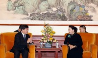 Jefa del Parlamento vietnamita conversa con dirigentes de empresas líderes de tecnología de China