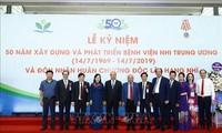 Vietnam fomenta la atención médica a pacientes infantiles