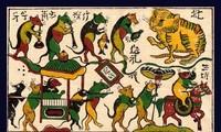 Vietnam solicita reconocimiento internacional de pintura folclórica de Dong Ho como patrimonio intangible