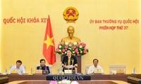 Inauguran 37 periodo de sesiones del Comité Permanente del Parlamento de Vietnam