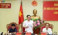 Vicepremier orienta el desarrollo en Meseta Occidental de Vietnam