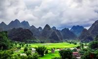 La belleza de Trung Khanh-Cao Bang vista desde lo alto