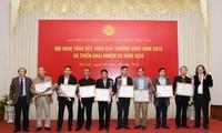 Evalúan aportes de Unión de Asociaciones de Literatura y Artes de Vietnam al desarrollo nacional