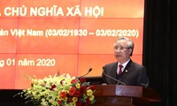Reafirman el liderazgo del Partido Comunista de Vietnam en causa innovadora