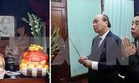Premier vietnamita rinde tributo al presidente Ho Chi Minh en ocasión del Tet 2020