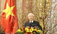 Mensaje de felicitación del presidente de Vietnam por el Año Nuevo Lunar 2020